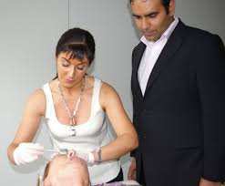 Jeanette training with Dr. Sach Mohen