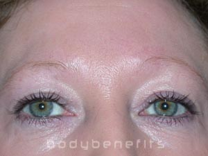Eyes & Brows before Permanent Cosmetics